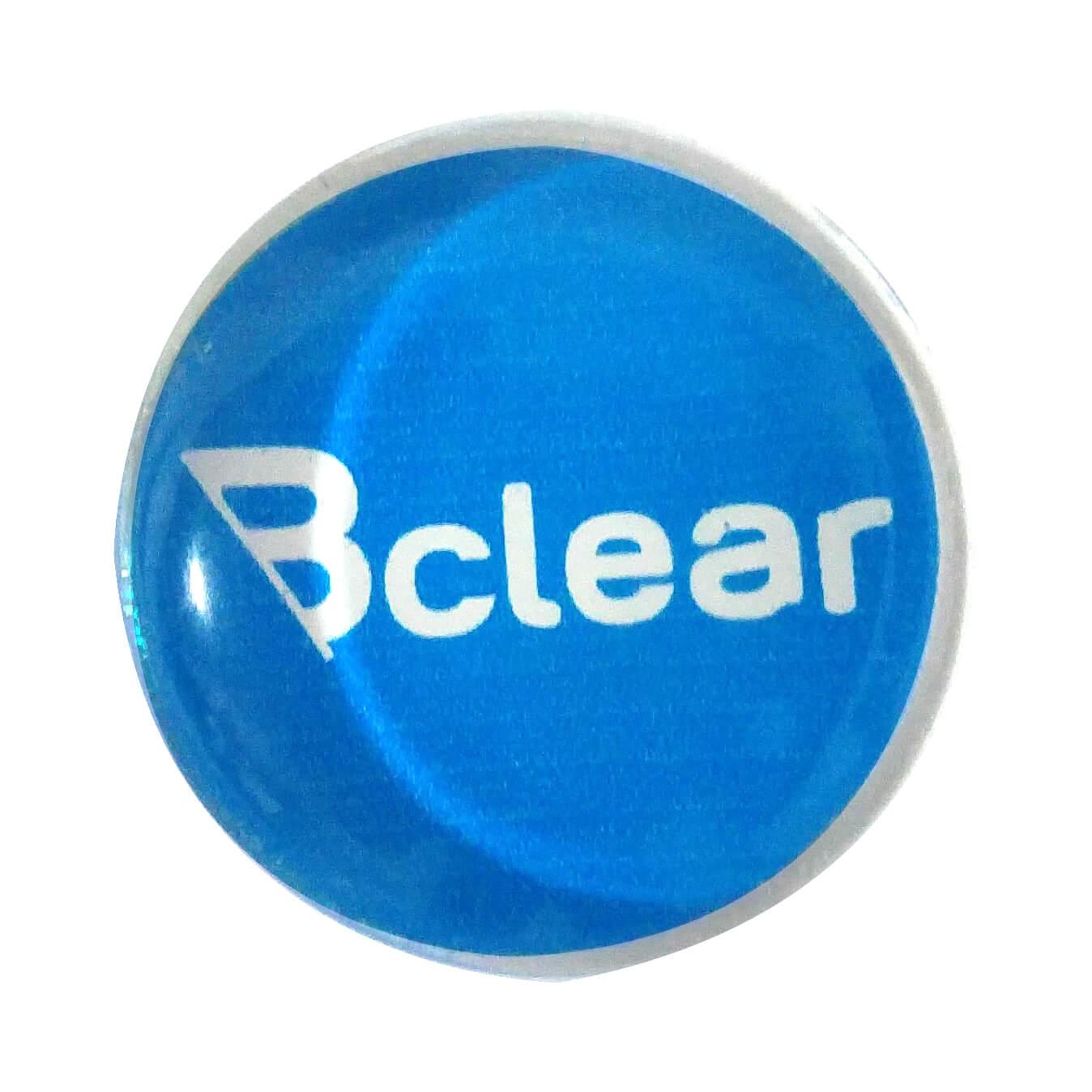 מגנט זכוכית כחול ללוח מחיק