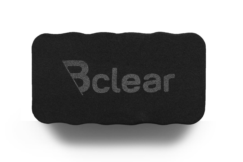 מחק ספוג מגנטי שחור ללוח מחיק Bclear