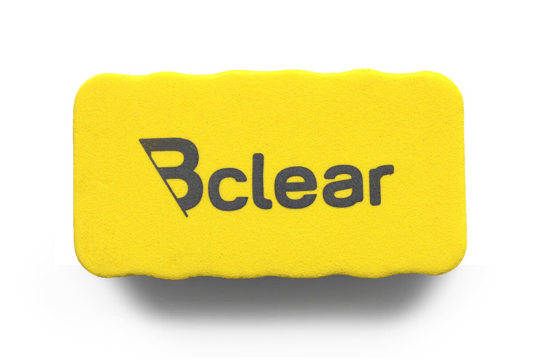 מחק ספוג מגנטי צהוב ללוח מחיק Bclear