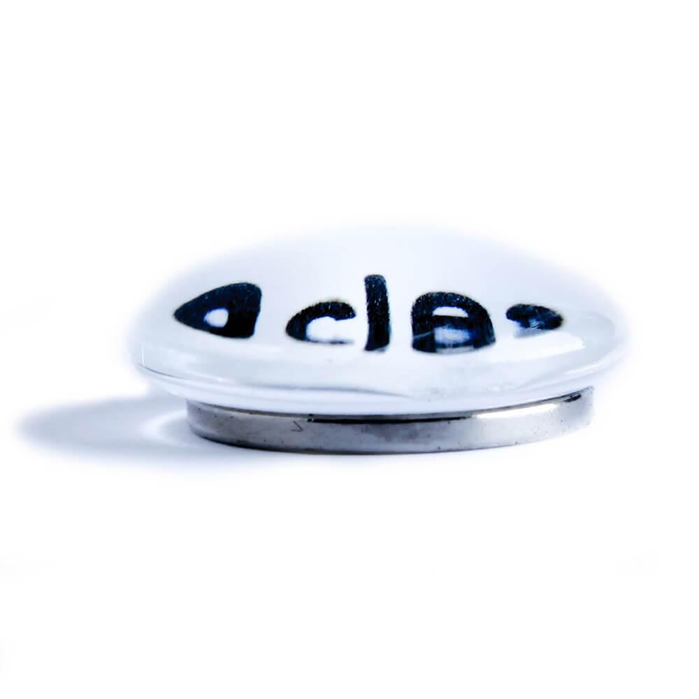 מגנט זכוכית לבן ללוח מחיק