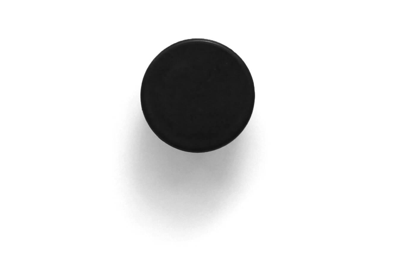 מגנט פלסטיק שחור ללוח מחיק