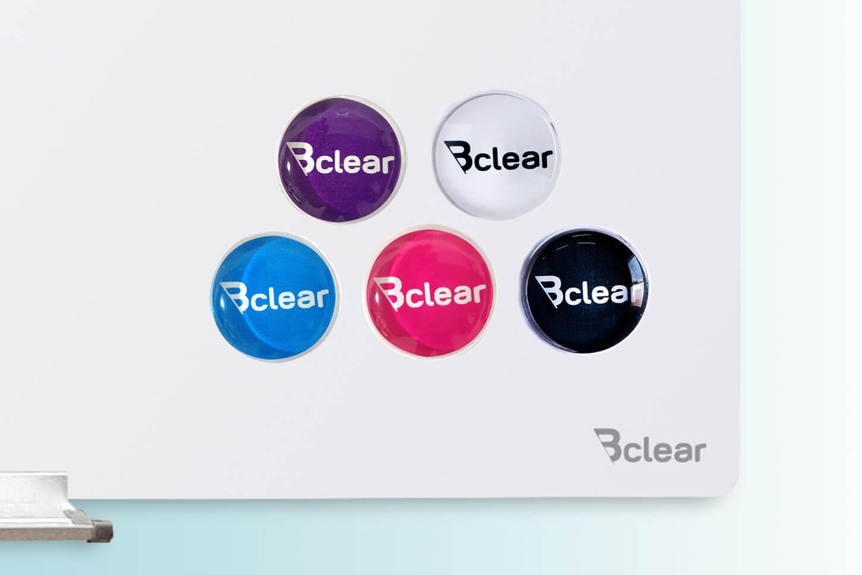 מגנט זכוכית ללוח מחיק Bclear
