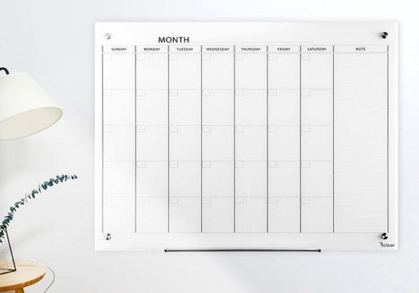 לוחות תכנון חודשיים